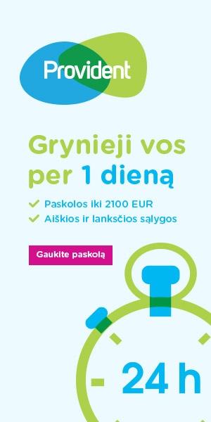 Provident Polska S.A. filialas Provident Finansai ...
