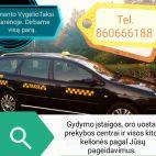 Almanto Vygelio individuali taksi veikla