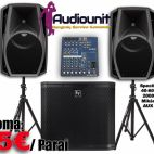 Audiounit.lt rental of professional