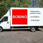 Bobino perkraustymas ir krovinių pervežimas