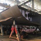 Įvairių tipų laivų remontas ir techinė