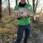 Fishing in a natural KIRNEILIS lake in