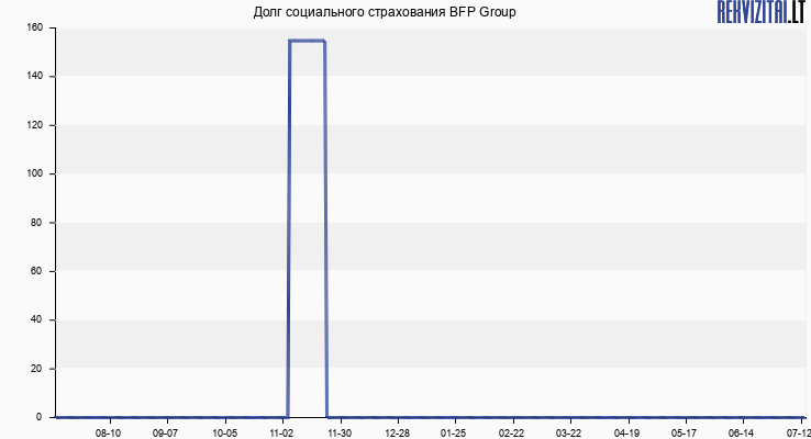 Долг социального страхования BFP Group