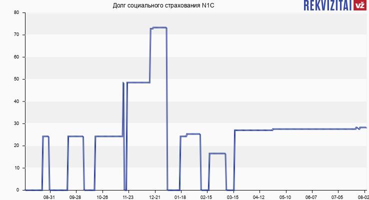 Долг социального страхования N1C