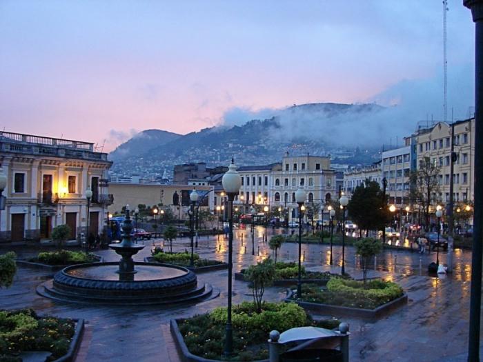 Miestas siaures ekvadore
